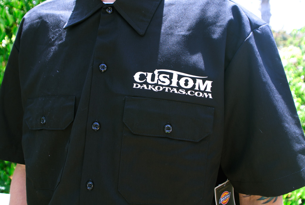 Custom Dakota work shirts - Dodge Dakota Forum : Custom Dakota ...