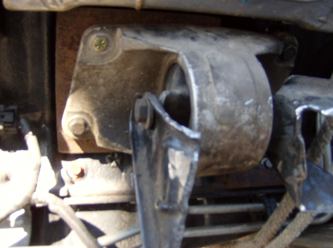 dakota hemi dodge motor swap mounts done v8 heres forums truck