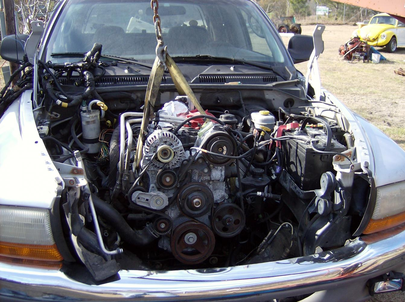 Dakota    Hemi Swap DONE Heres How     Dodge       Dakota    Forum   Custom    Dakota    Truck Forums
