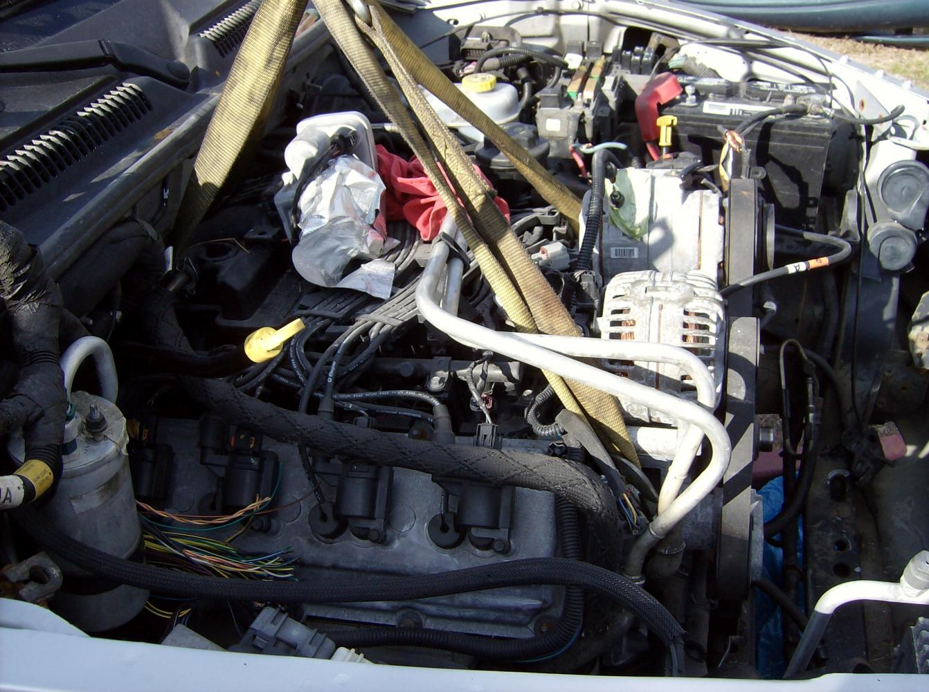 D Dakota Hemi Swap Done Heres How Dodge Dakota Hemi Motor on 2001 Dodge Dakota S