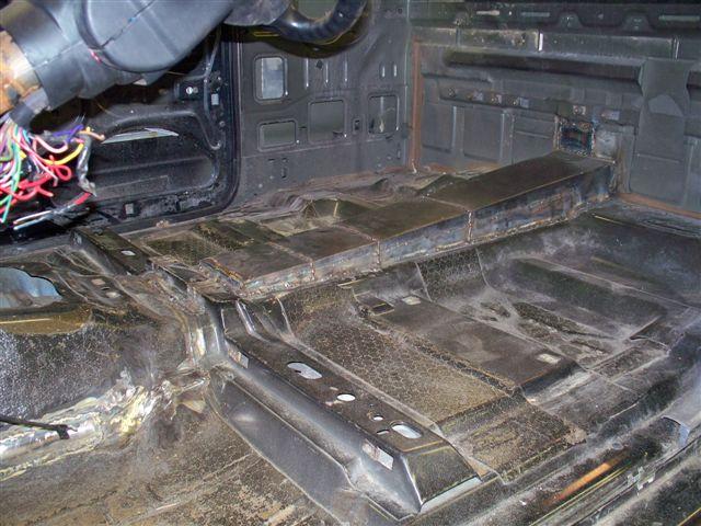 D Up Date Chopped Top Body Drop Drive Shaft Tunnel on 06 Dodge Dakota Trans Id