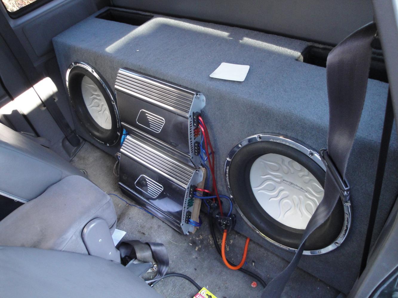 Truck Sound System >> Pics Of Sound Systems Dodge Dakota Forum Custom Dakota Truck Forums