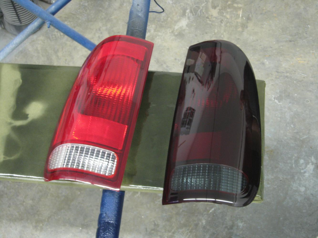 D Tail Light Paint Autozone Img on 04 Dodge Dakota