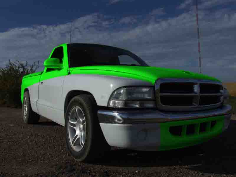 Dodge With  Tone Paint Jobs