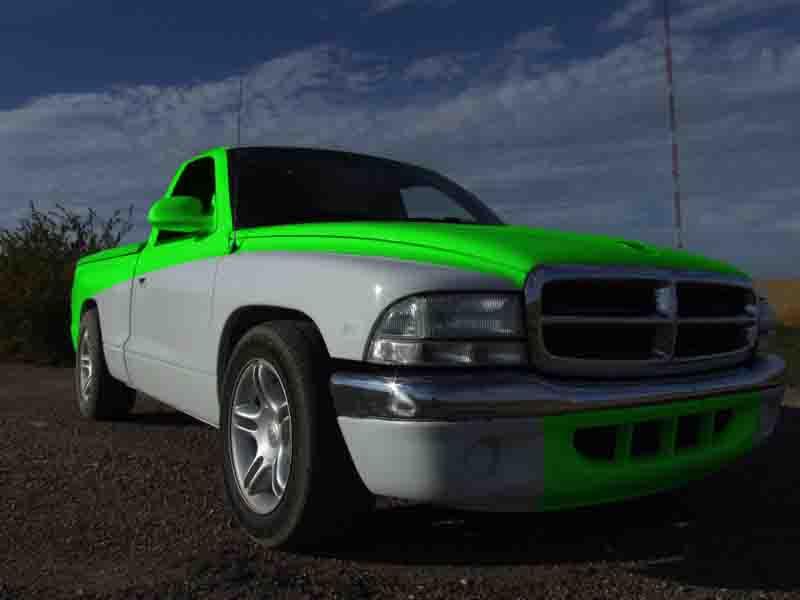 D Photoshop Tone Paint Help Your Choice Limeade on 2001 Dodge Dakota Custom